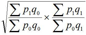 Fišera ideālā formula cenu indeksam